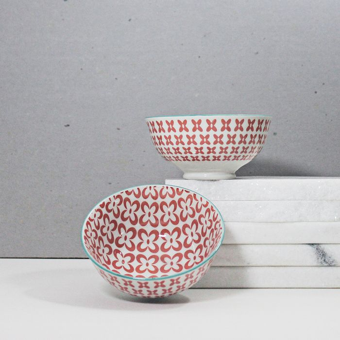 Bowl-em-porcelana-Red-flower---12-cm